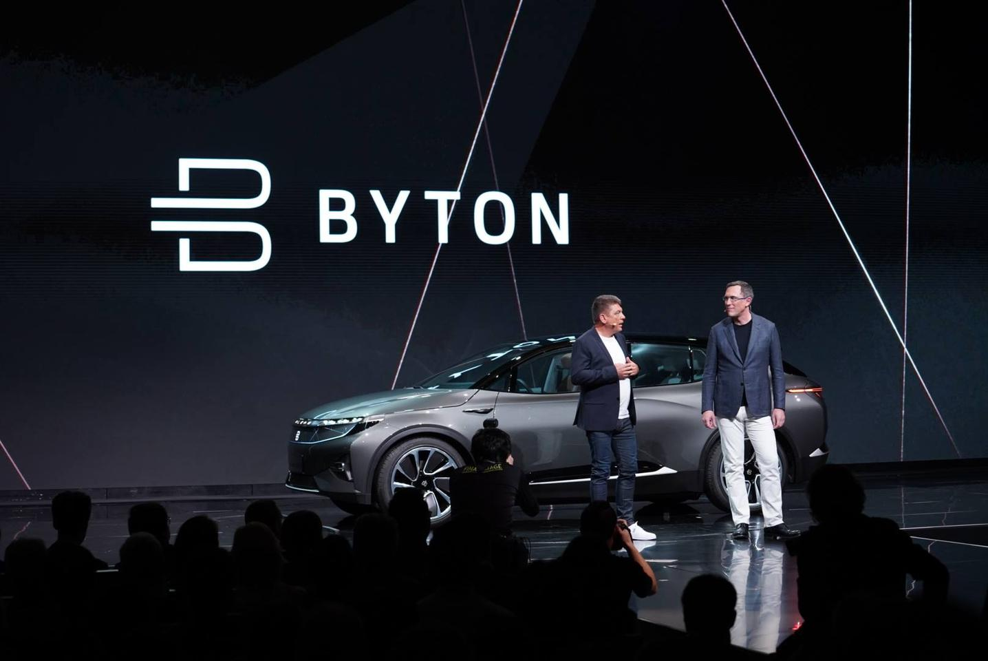 Byton reveals its concept at the 2018 Consumer Electronics Show