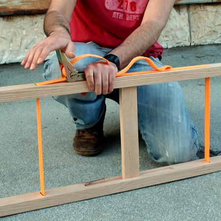 The collapsible ladder