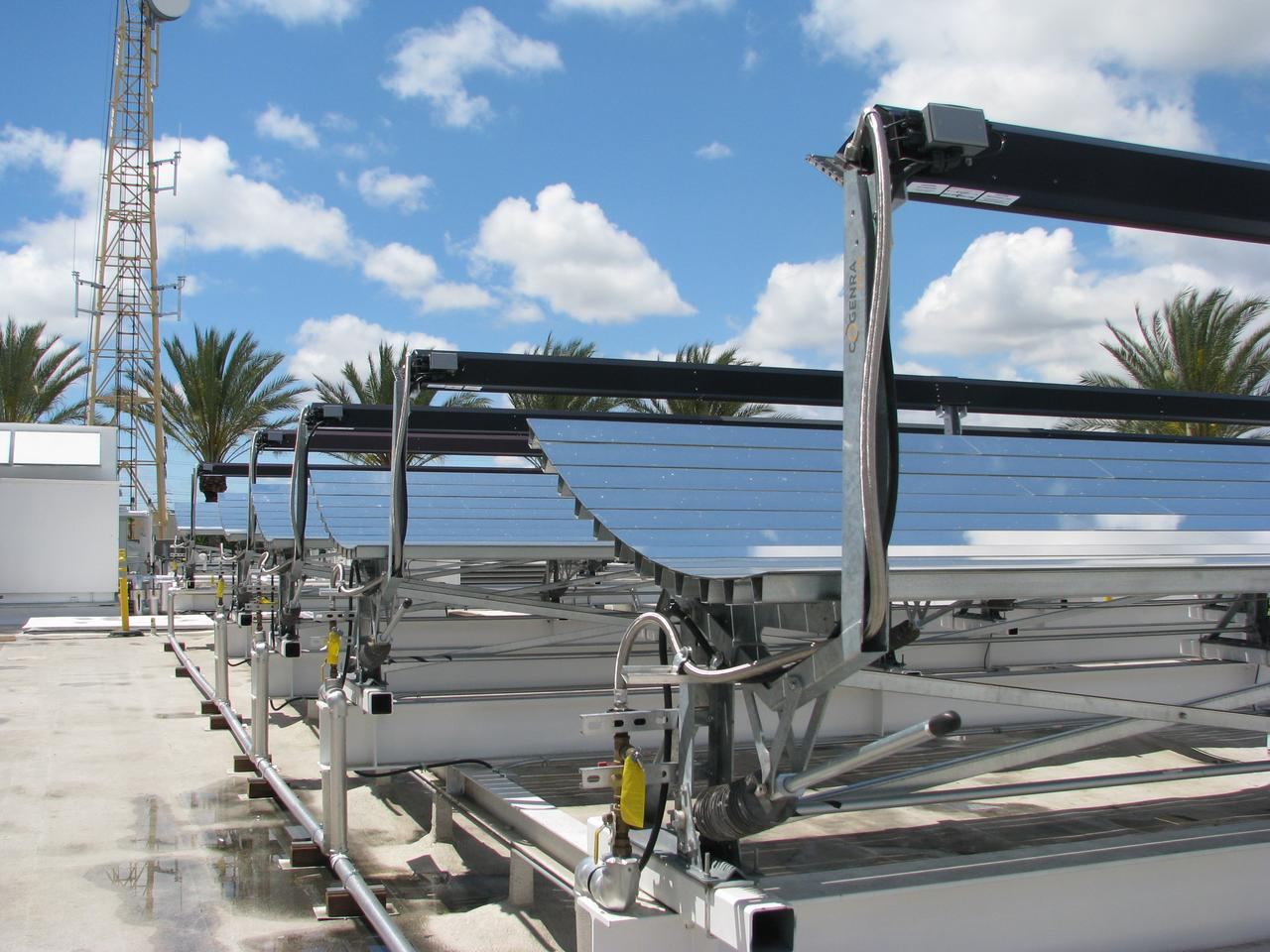 SoCalGas has become the site of demo installation of Cogenra's cogeneration solar system