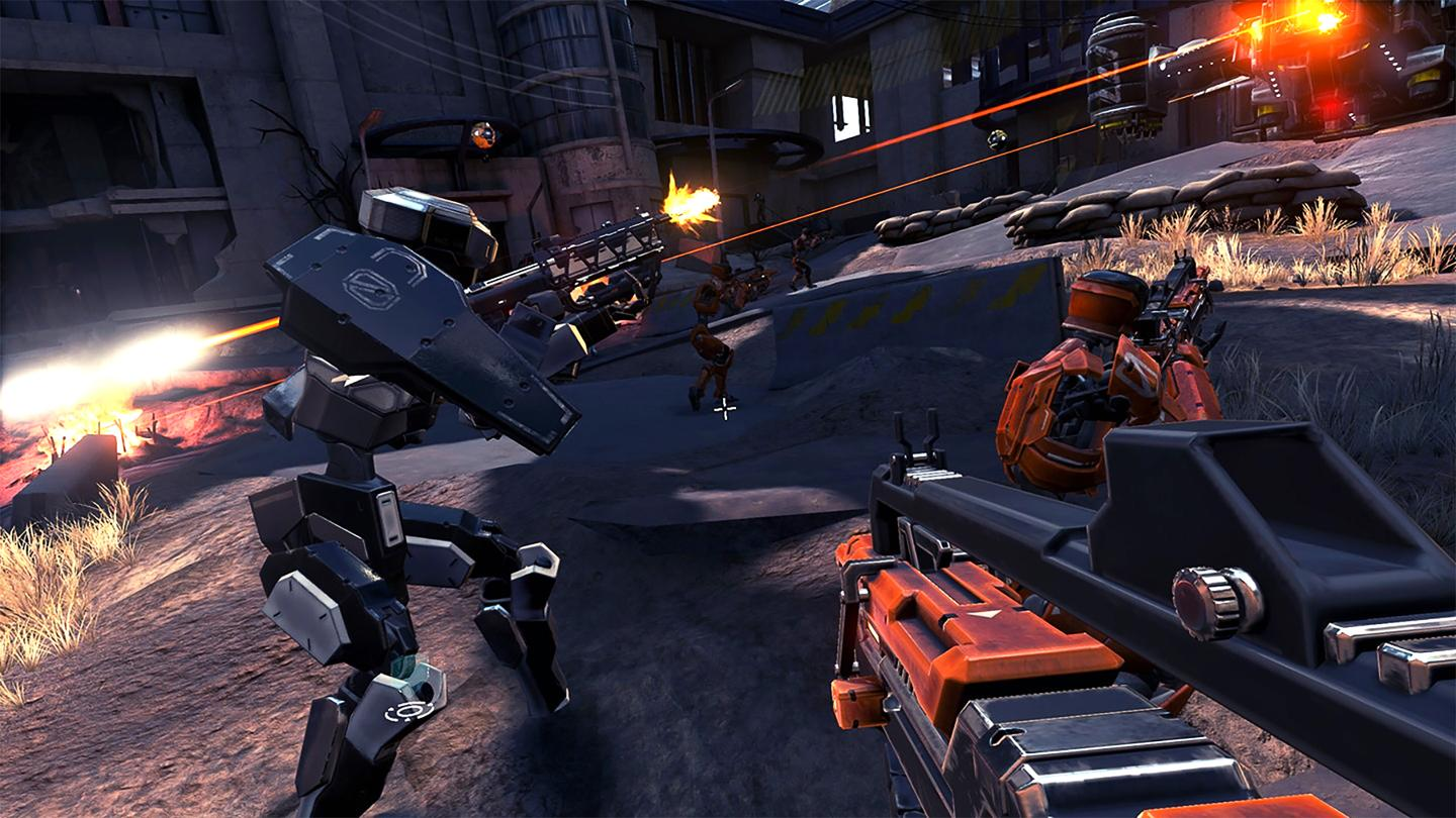 Oculus Rift exclusive Damaged Core is a rare first-person shooter that does something different