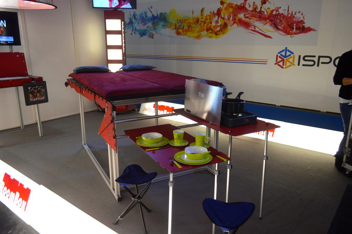 SwissRoomBox presents the new FreeTech at ISPO Munich 2014