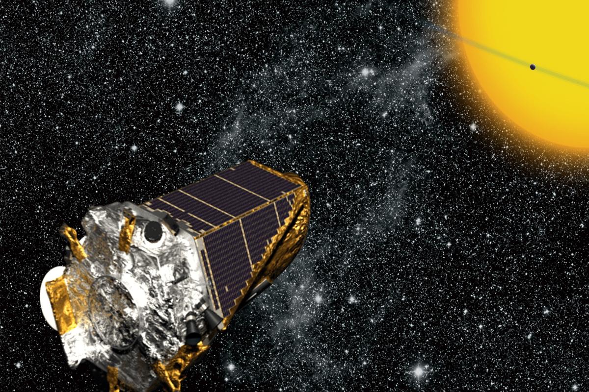 Artist's impression of Kepler (Image: NASA)
