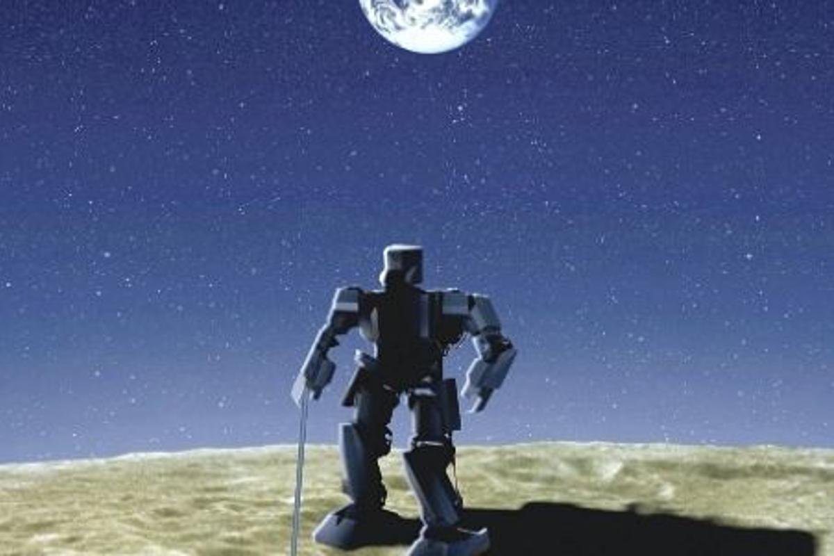SOHLA is planning to send a humanoid robot to the moon by 2015 (Image: SOHLA)