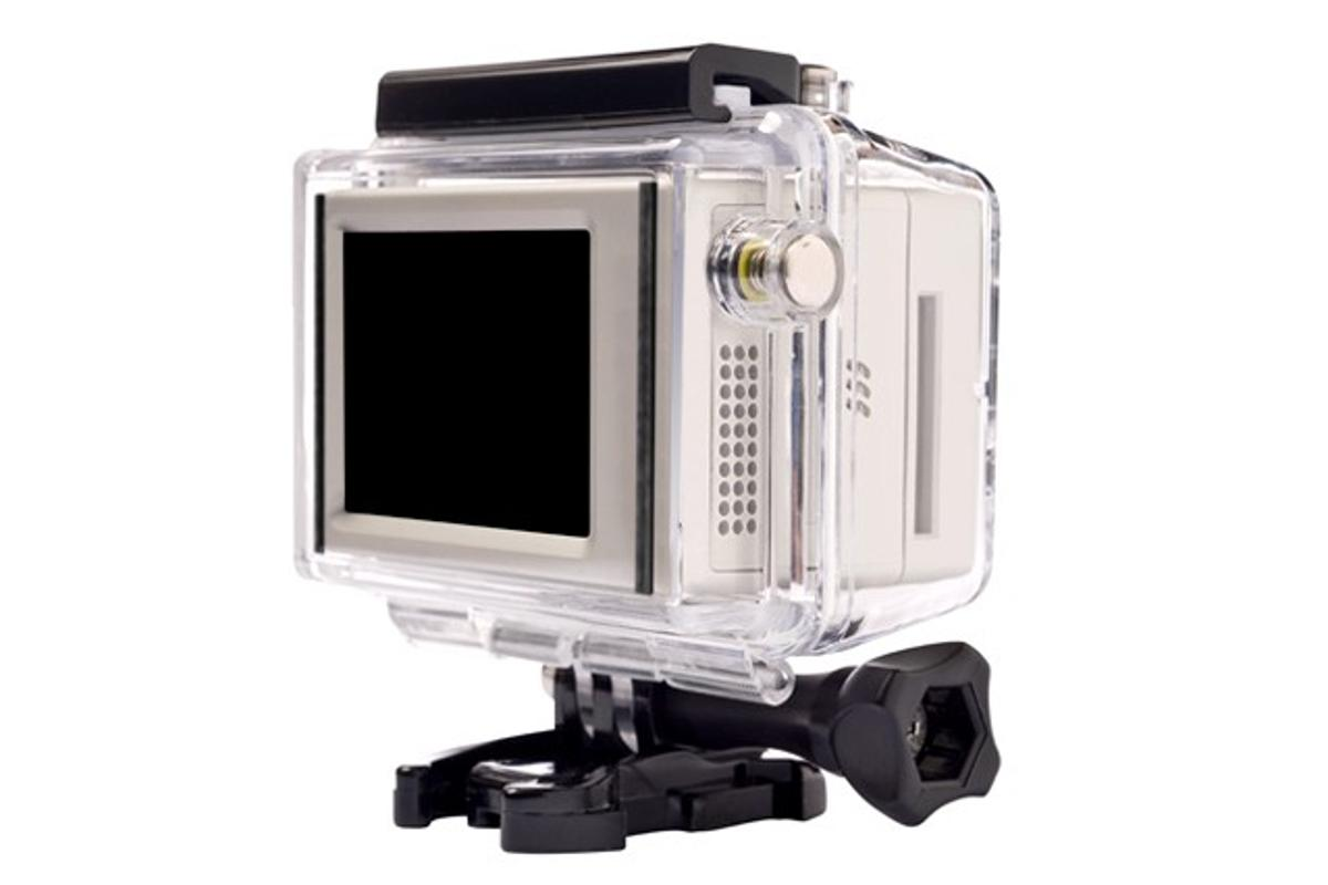 GoPro has just released an add-on LCD screen module for its HERO HD actioncam