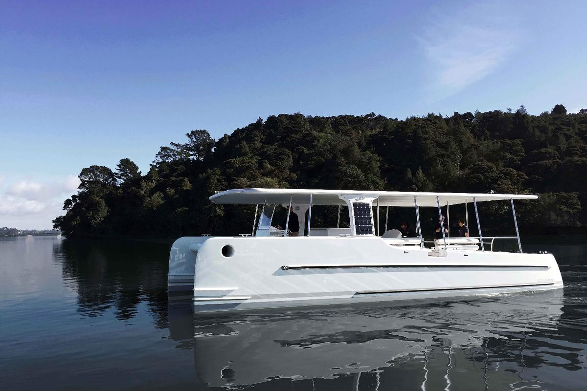 The first SoelCat 12 is launching in Auckland, New Zealand this week