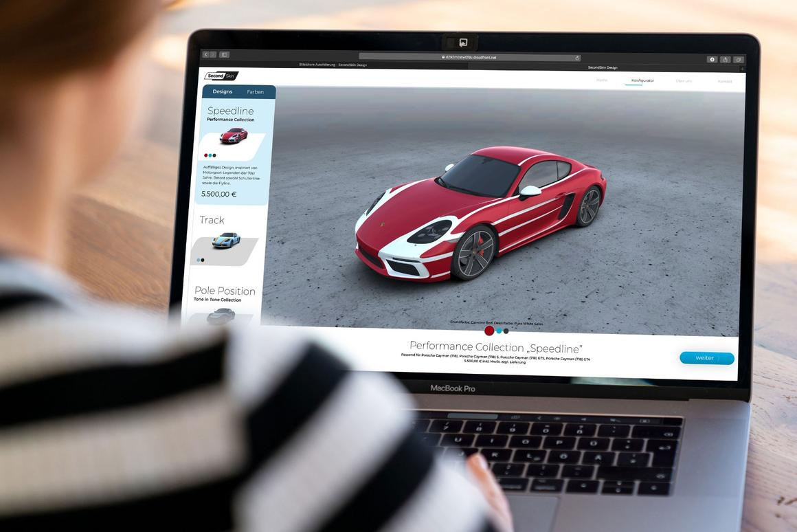 Taking personalization to the next level with Porsche's Second Skin wrap service
