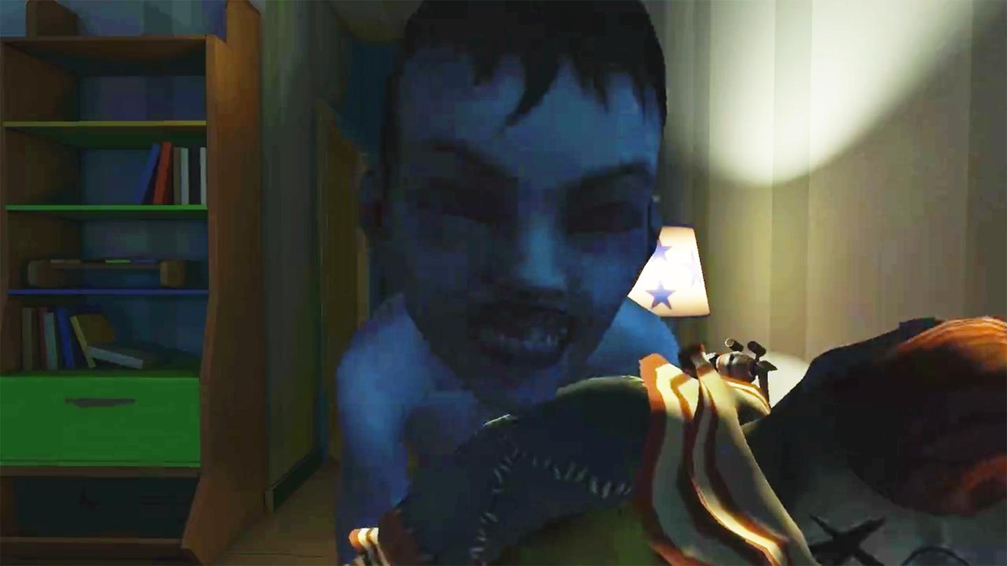The Gear VR Face Your Fears experience is extrafrightening if you have a fear of creepy children