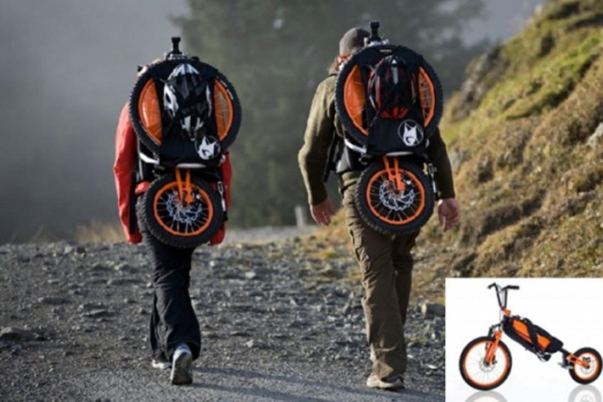 The Bergmonch bike backpackImage: Bergmonch