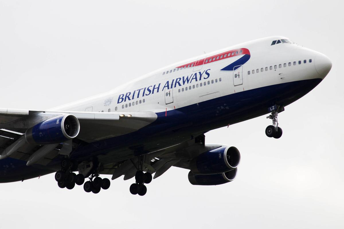 British Airways' current fleet of 747-400s consists of 31 aircraft
