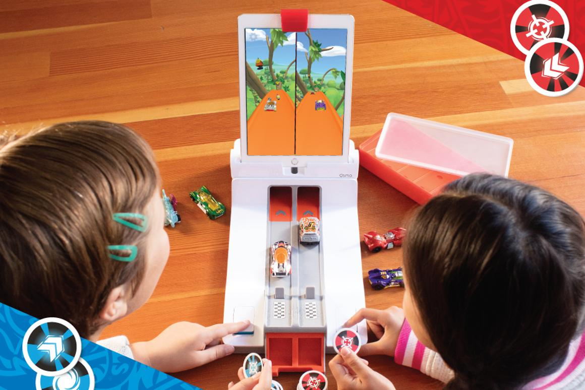 Osmo and Mattel have unveiled Hot Wheels MindRacers, an augmented reality game that uses steel cars to control an iPad racing game