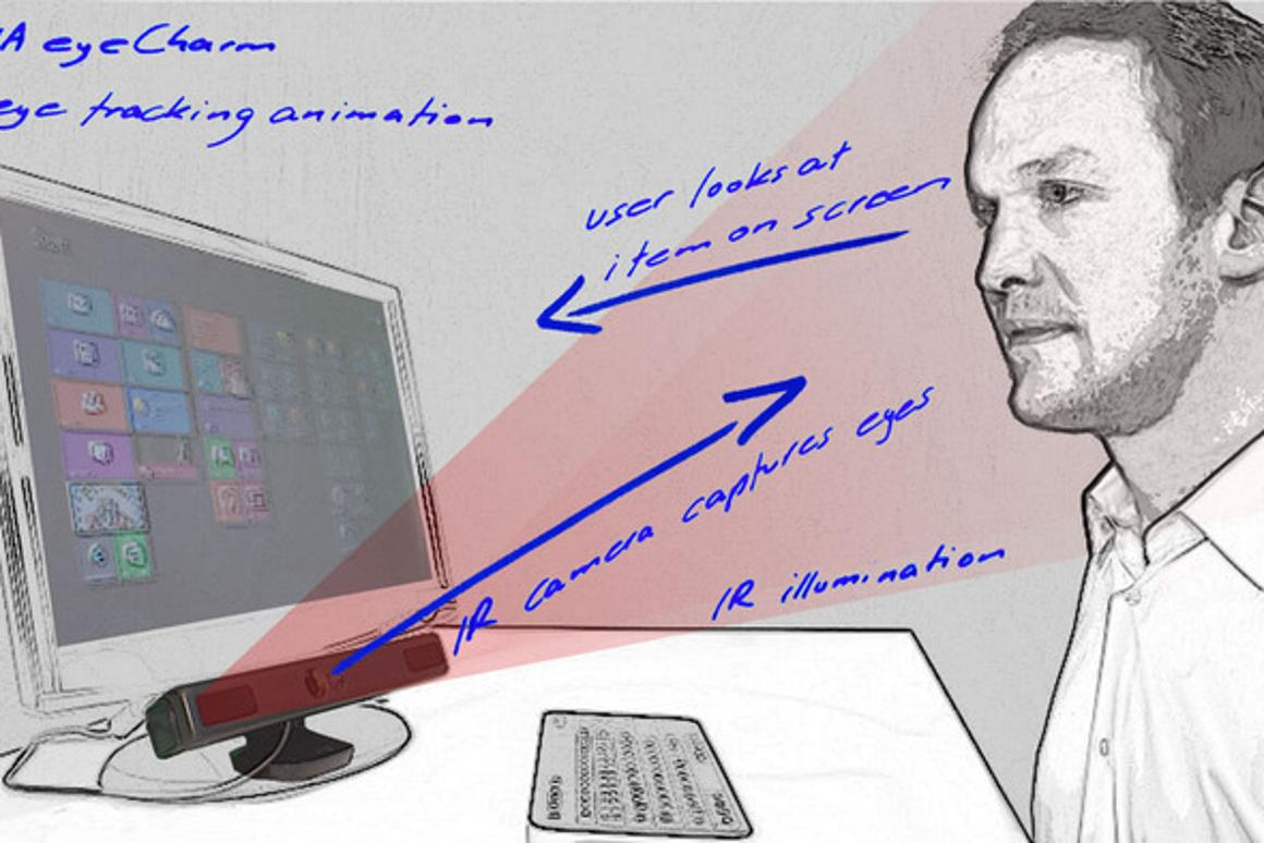 NUIA eyeCharm turns Kinect into an eye-tracker