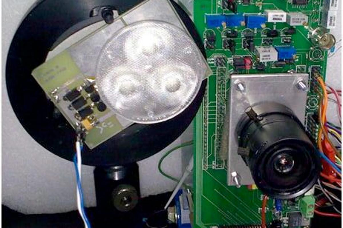 Fondazione Bruno Kessler's 3D imaging camera prototype