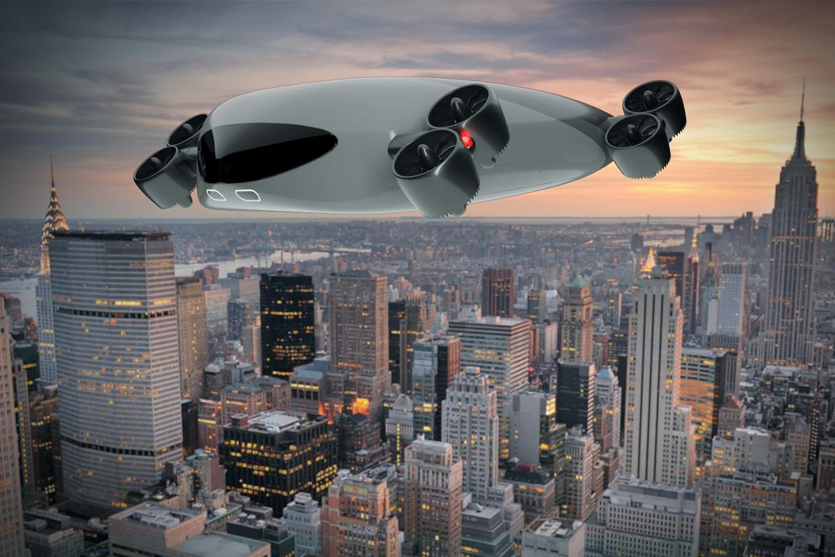 New York City startup Kelekona is proposing a mass transport-sized eVTOL air bus service capable of carrying 40 people long distances