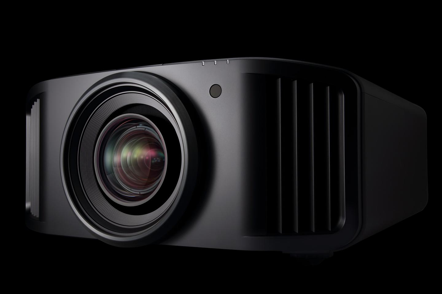 The top of the range DLA-NZ9 laser projector features an upgraded light source that uses a blue diode for the promise of high brightness and long life