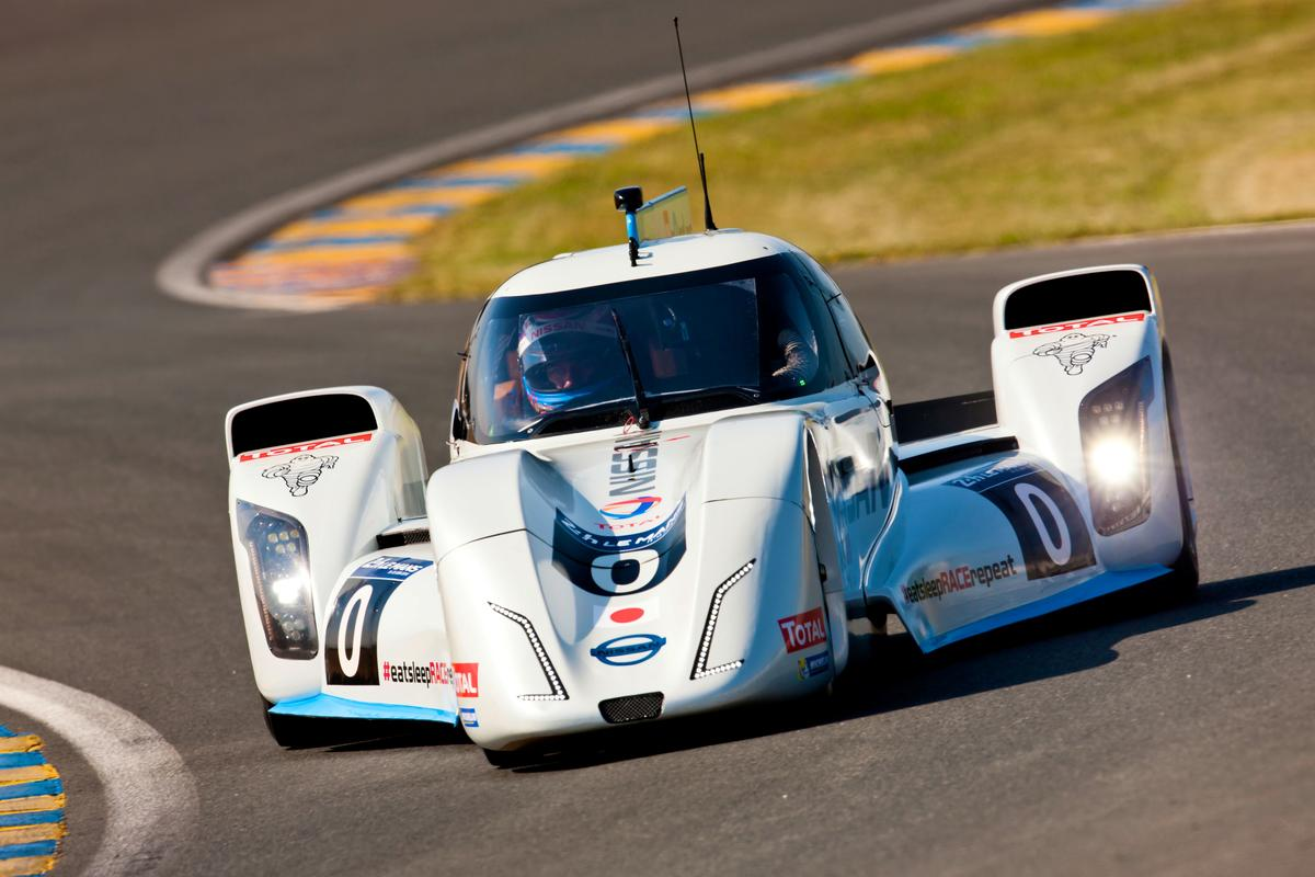 The ZEOD is racing out of Le Mans' Garage 56