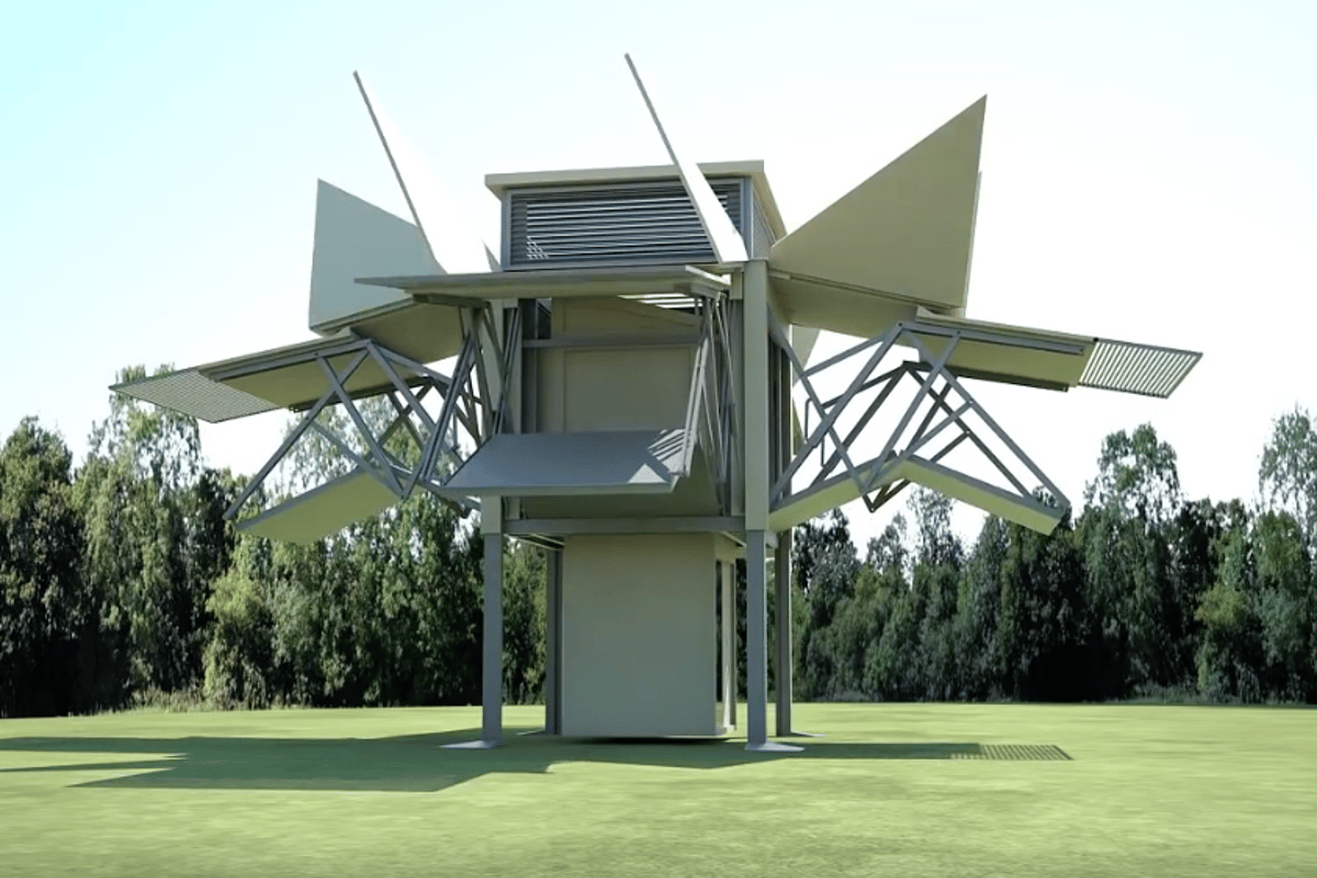 The unfolded Tree House