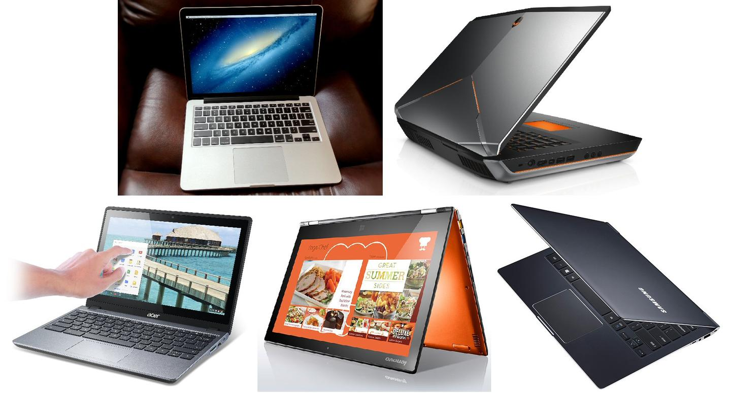 Gizmag's pick of the best laptops of 2013