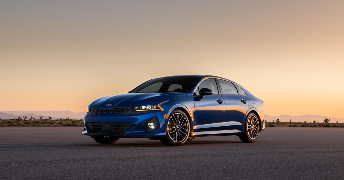 Kia shatters the Optima mold with the edgier K5