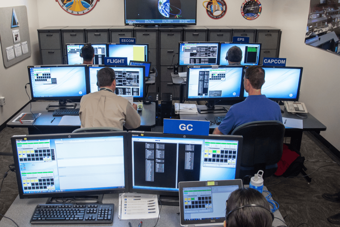 NASA scientists and flight controllers simulated a crisis situation aboard the Orion spacecraft