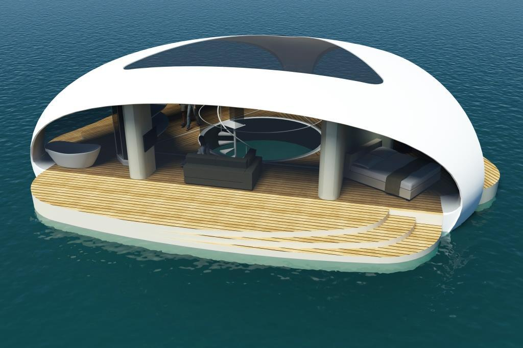 The SeaScape floating villa, by BMT Asia Pacific