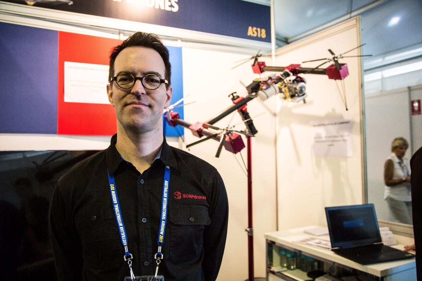 SOAPdrones Technical Director Paul Riess