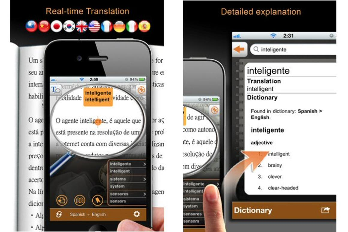 Worldictionary app uses Google and iPhone camera for instant