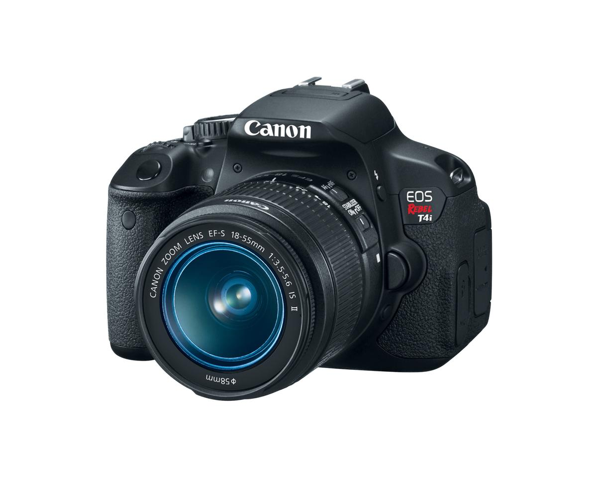 Canon says that the new flagship Rebel is the first of the company's cameras to feature a sensor-based hybrid AF system that allows for continuous autofocus while recording video