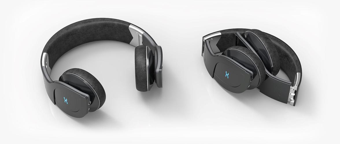The Helios Bluetooth headphones have an integrated microphone, intended for use with a paired device to enable hands-free phone conversations