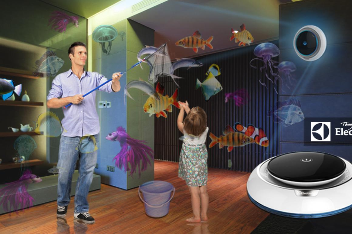 The Future Hunter Gatherer concept is one of the six finalists remaining in the Electrolux Design Lab 2014 competition