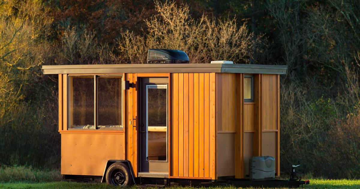 Pint-sized tiny house designed for weekends away