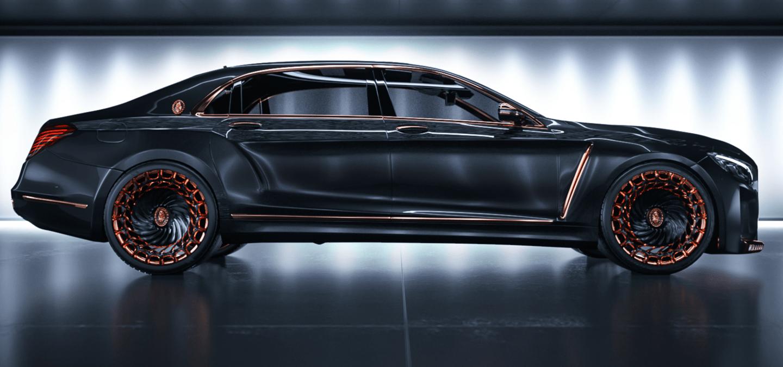 Scaldarsi's Emperor 1 started asa Mercedes-Maybach S600