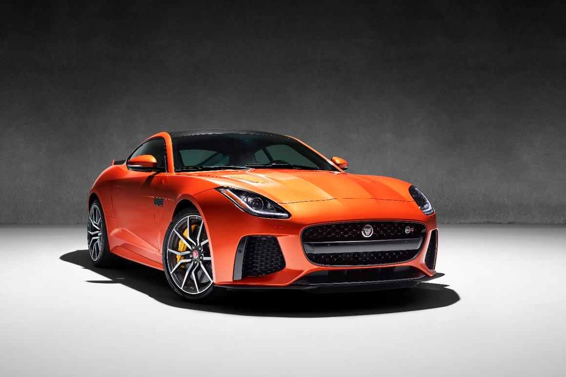 The Jaguar F-Type SVR set to debut at the Geneva Motor Show