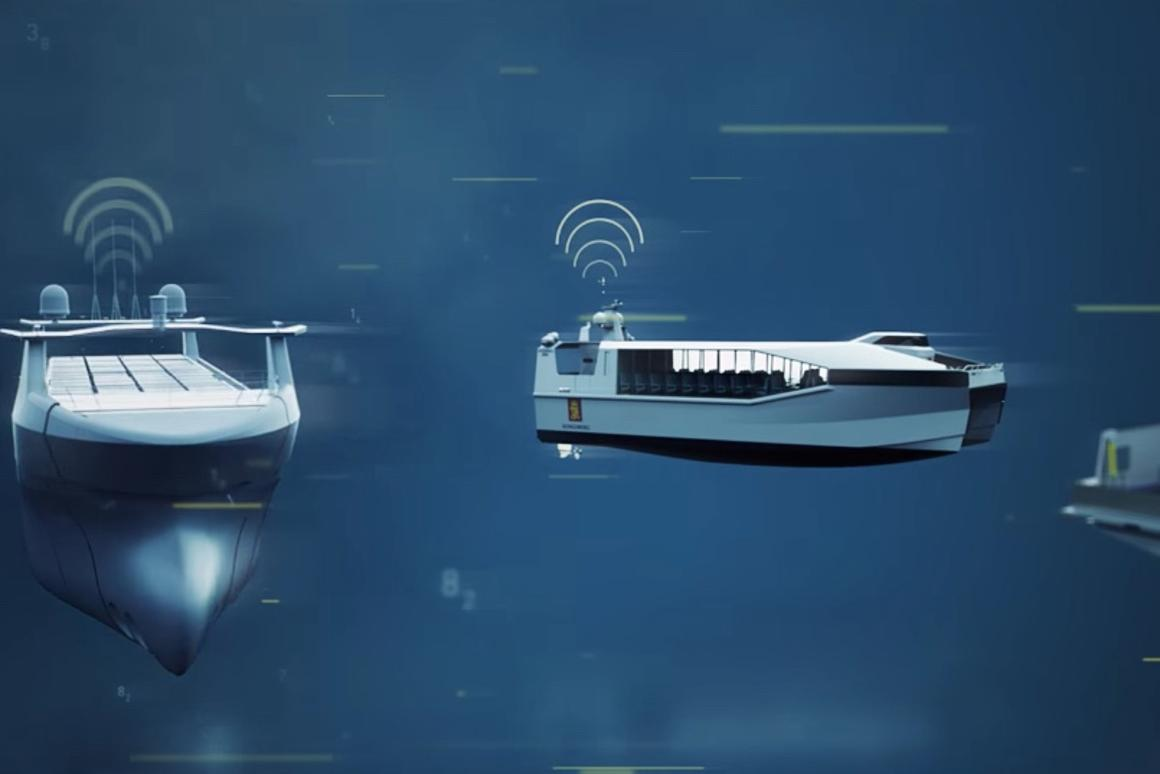 Plans call for Massterly to design and build autonomous ships