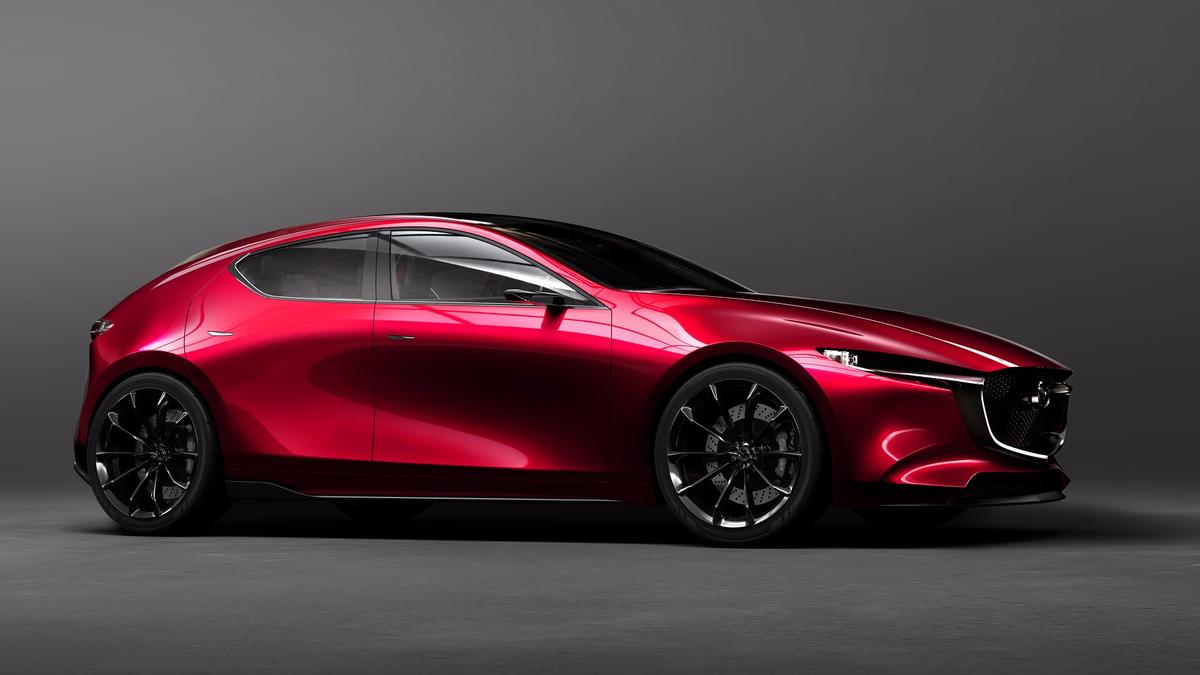 Mazda says that the Kai embodies the company'snext-gen SKYACTIV-Vehicle Architecture platformand the newest SKYACTIV-X gasoline engine family