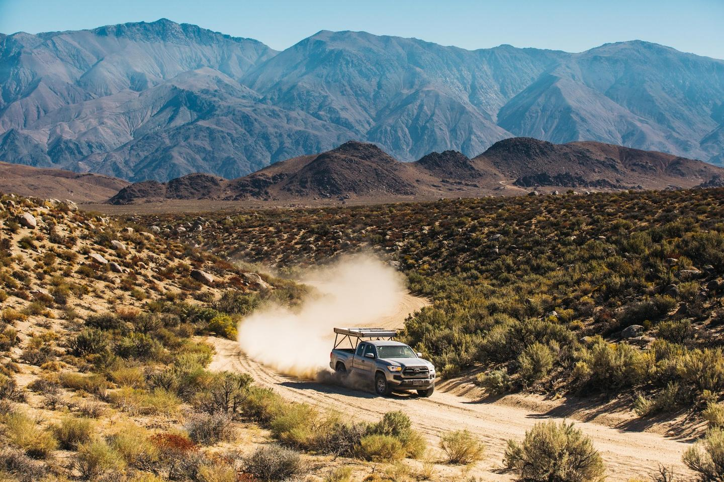 With its low weight and tough, race-inspired build, the Go Fast Camper is designed for fast, bumpy rides to and out of camp