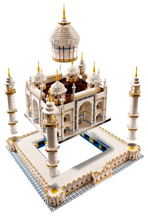The upcoming LegoTaj Mahalis a re-release of a kit originally launched in 2008, and is part of the Creator Expert series