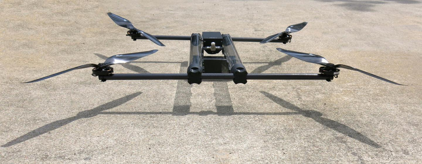 The complete Hycopter should weigh a total of 5 kg (11 lb), and be capable of carrying a payload of up to 1 kg (2.2 lb)