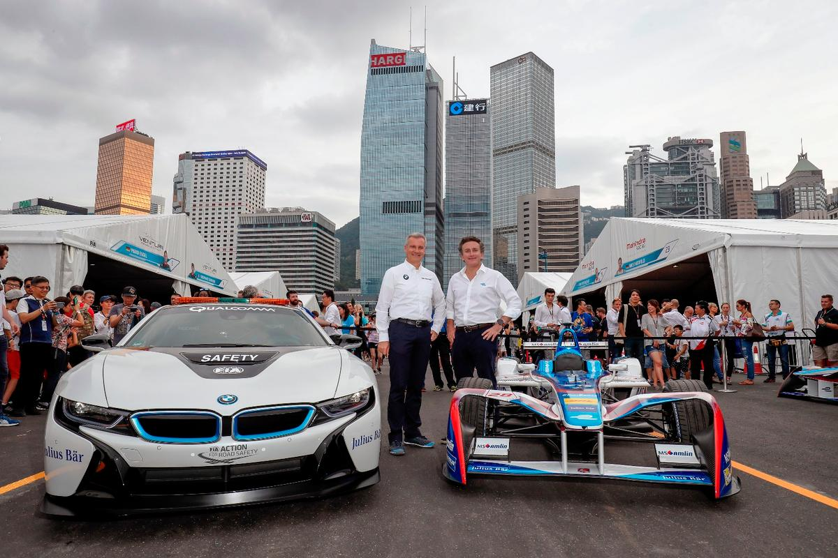 BMW is teaming up with Andretti Autosport for the 2018/19 Formula E season