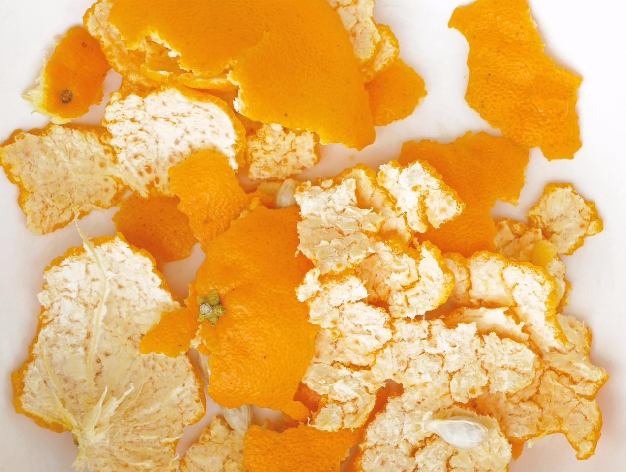 Orange and grapefruit peels have been used to help purify polluted water