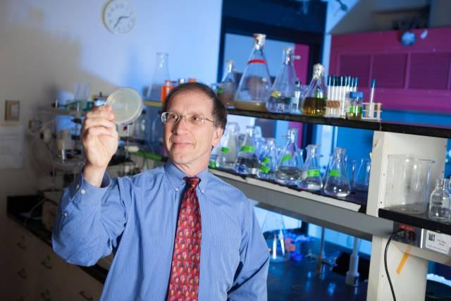 Michael Hecht, lead researcher on the team that developed theartificial enzyme Syn-F4