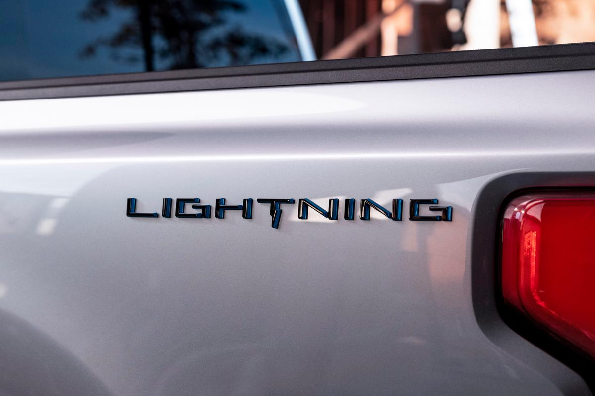 Ford announces next week's debut along with the model name of its full-size electric pickup: F-150 Lightning