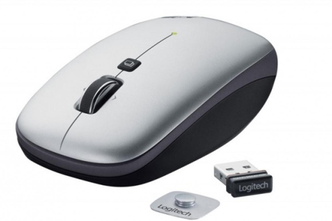 Logitech V550 Nano cordless mouse