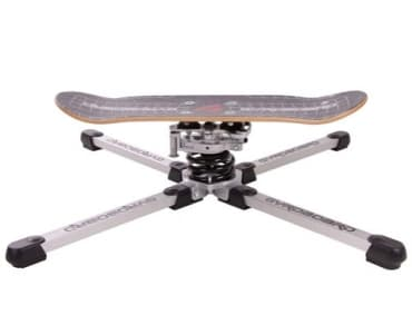 Gyroboard is available in three models, including this skateboard deck version
