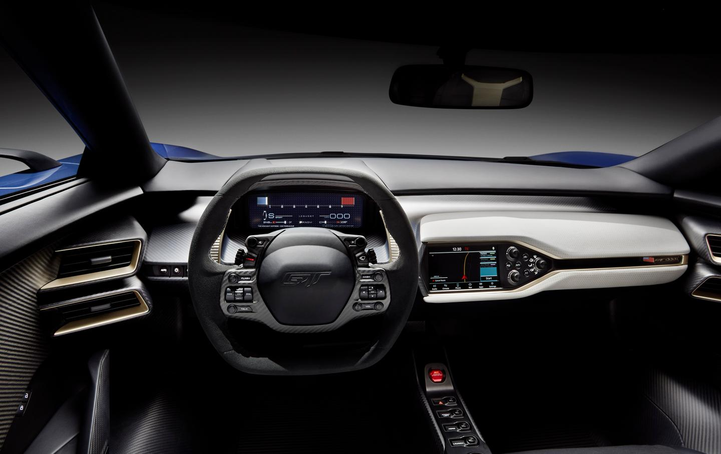 The Ford GT interior helped to inspire Ford designers' exploration of non-automotive design