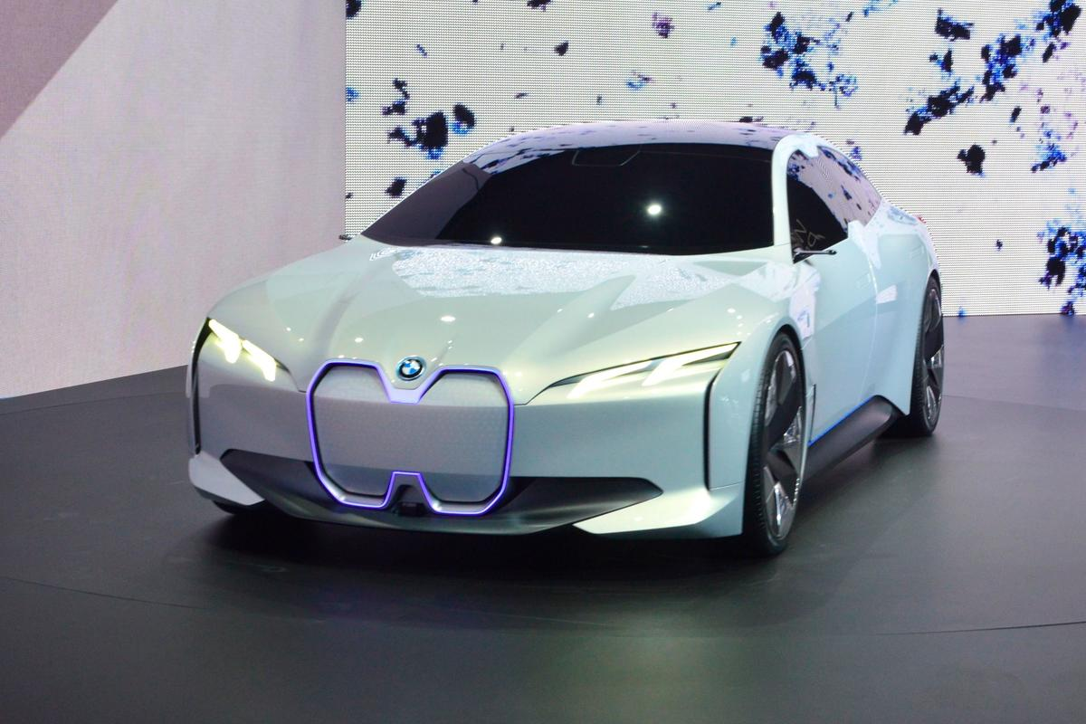 BMW reveals the i Vision Dynamics in Frankfurt