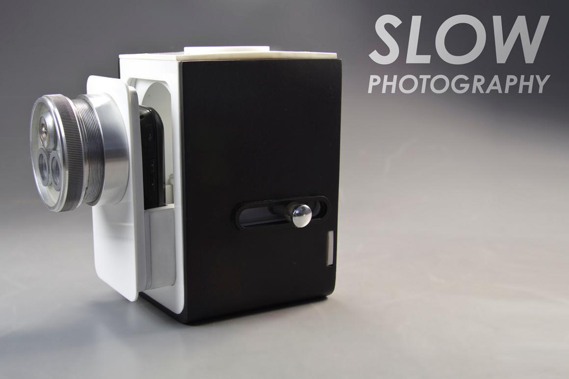David McCourt's Slow Photography camera prototype (Images courtesy of David McCourt)