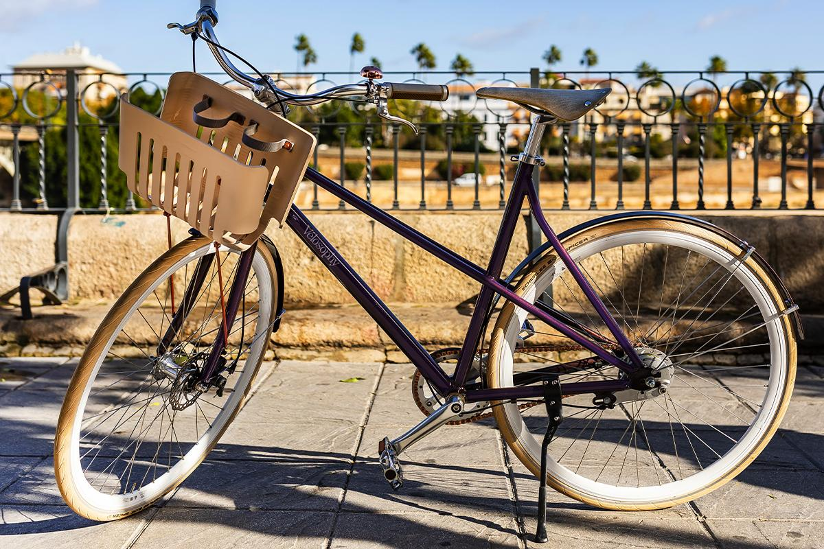 Swedish bike maker Vélosophy has retrieved hundreds of thousands of these aluminum capsules and used them to build a line of stylish urban bikes