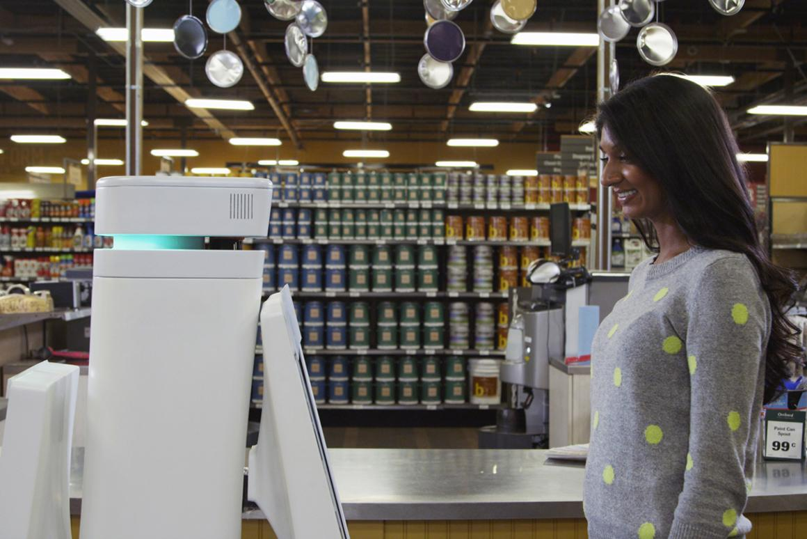 OSHbots are designed to not only identify and locate merchandise, but to speak to customers in their own languages