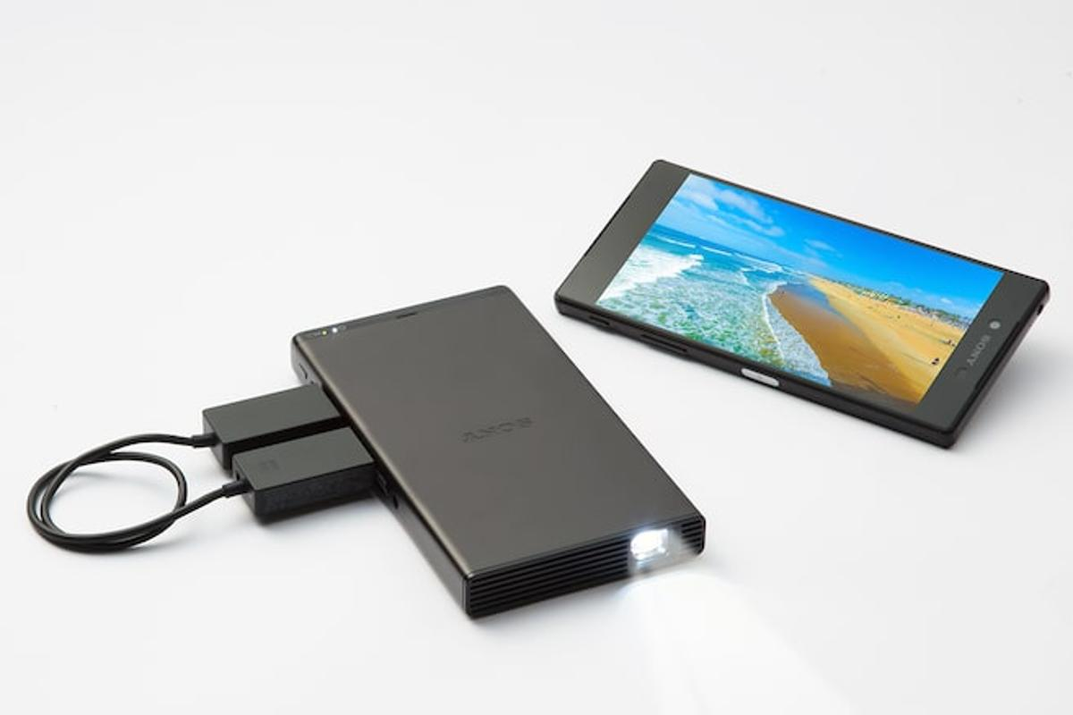 The MP-CD1 Mobile Projector is not an especially notable upgrade from the company's prior attempt at a pico projector