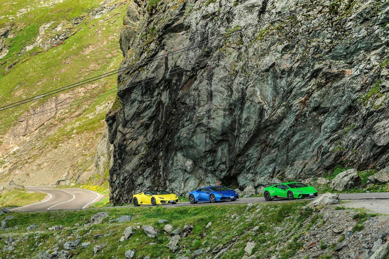 Lamborghini descends (ascends?) on Transylvania
